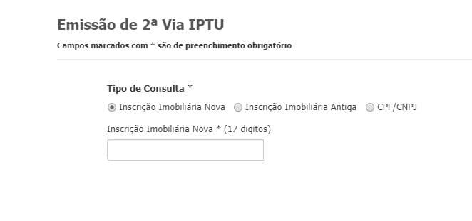 IPTU São Luís Consulta