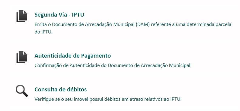 IPTU Porto Velho - RO Consulta