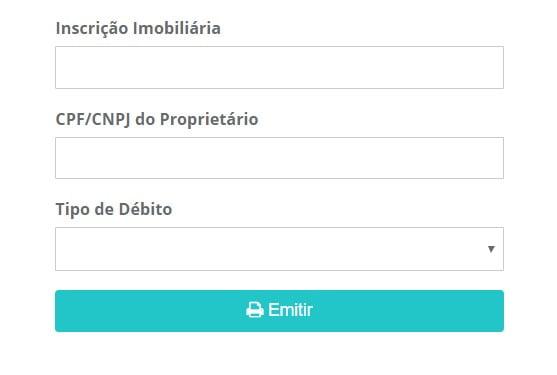 IPTU Rio Branco - Consulta