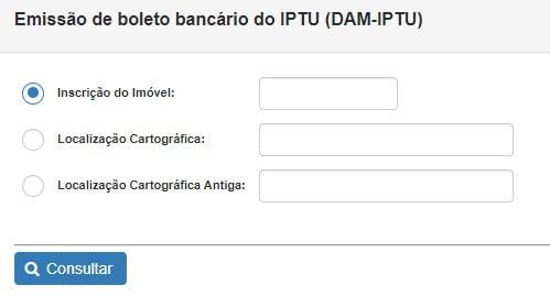 Consulta IPTU João Pessoa