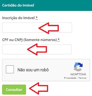 Emitir CND Imóvel Maracanaú CE