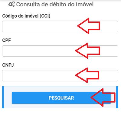 Consulta IPTU Águas Lindas de Goiás GO