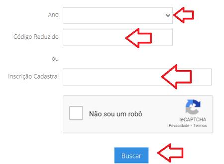 Consulta IPTU Divinópolis MG