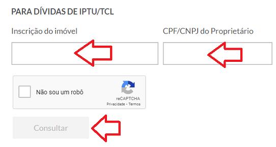 Parcelamento de débitos IPTU POA