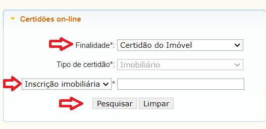 Emissão CND IPTU Joinville SC
