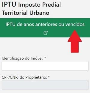 IPTU em atraso Bauru SP